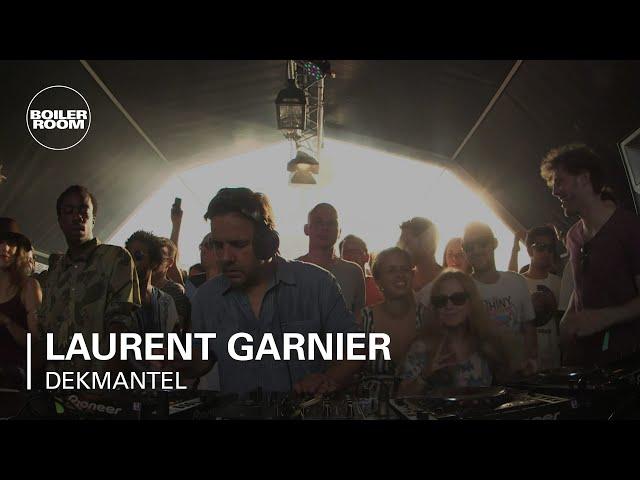 Vídeo de una actuación de Laurent Garnier.