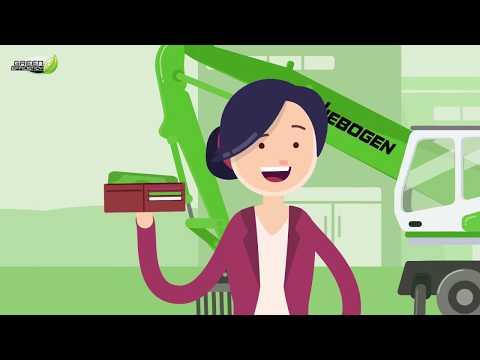 SENNEBOGEN Green Efficiency -  Kosten sparen mit innovativen Antriebskonzepten