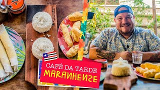 Égua Doido - Café da tarde maranhense (como fazer beiju, cuscuz de arroz e bolinho frito)