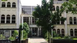Front entrance to Broadcasting House Bristol - BBC