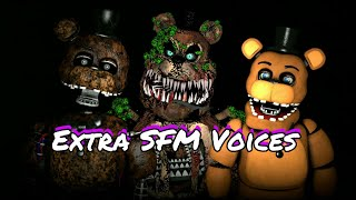 All FNAF extra Characters Voices SFM