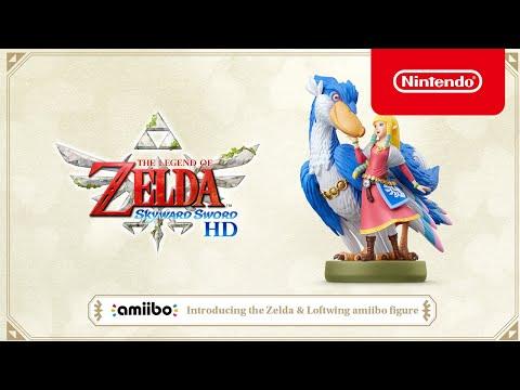WTFF::: The Legend of Zelda: Skyward Sword HD - Zelda & Loftwing amiibo announced