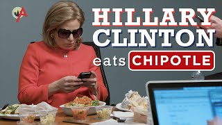 Hillary Clinton's Chipotle Order
