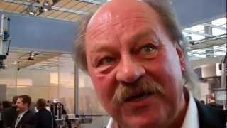 Live von der BRAU Beviale 2012 - Konrad Krug auf dem Krones Stand