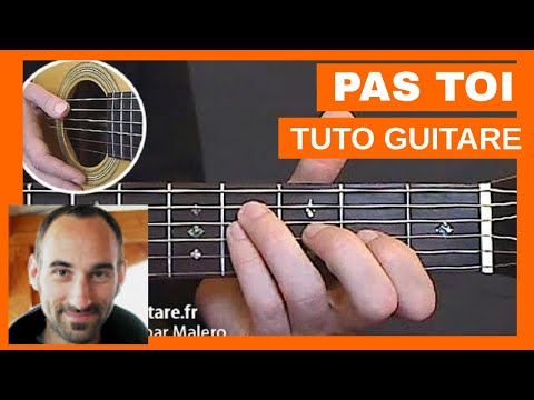 Comment jouer Pas Toi de Jean-Jacques Goldman à la Guitare