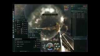 EVE online epic titan battle