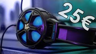 Vidéo-Test : EasySMX Cool 2000 | TEST | Un casque gamer à 25? ! ?