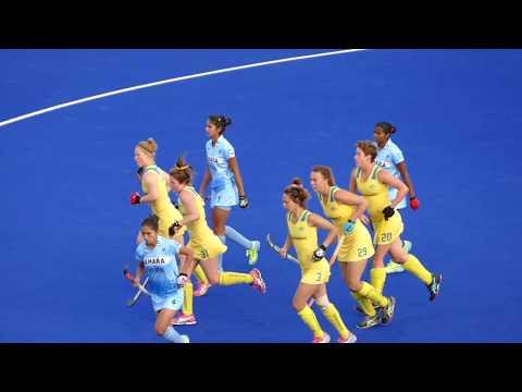 Australia 4 beat India 1 Womens hockey Melbourne