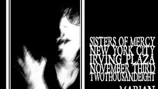 The Sisters of Mercy - Marian (Irving Plaza 2008)