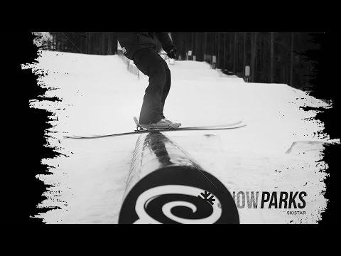 SkiStar Snow Parks - How-To - Rail, Räcke, Tunna