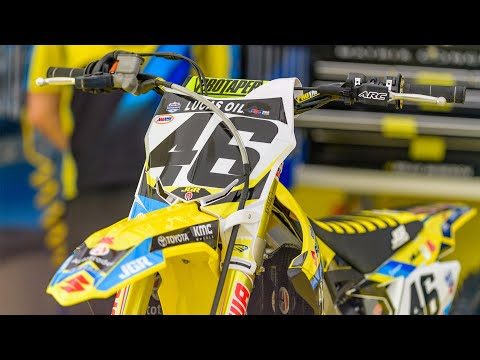 RIDES | Justin Hill's AutoTrader/Yoshimura/Suzuki Factory Racing RM-Z450