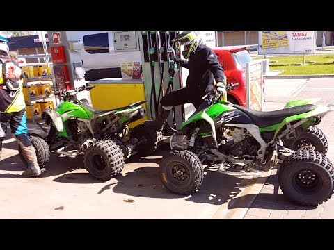 The best ATV for high speed riding - Cos wybuchlo w zielonym quadzie - W suzuki czy kawasaki !!!