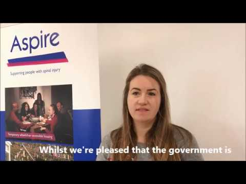 Aspire's Welfare Benefits Advice Manager Nicola Lazare comments on PIP Review