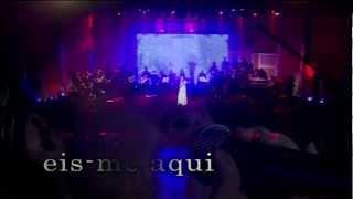 Cassiane - Eis-me aqui - DVD Cassiane 25 Anos de Muito  Louvor