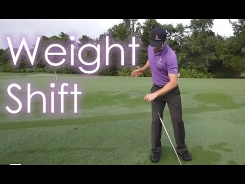 How to Shift Your Weight - 60 Sec. Free Golf Tips
