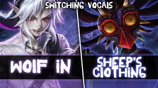 Nightcore ↬ Wolf in sheep's clothing [Switching Vocals]