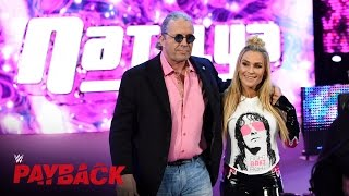 "WWE Hall of Famer Bret ""The Hitman"" Hart makes his entrance: WWE Payback 2016 on WWE Network"