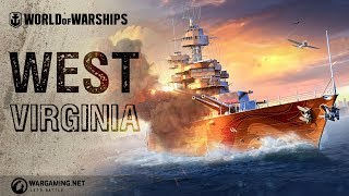 West Virginia - Coming Soon in World of Warships!