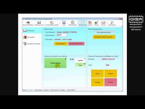 SOFTCARD - Impostare il credito di una tessera ovale importata dall'archivio