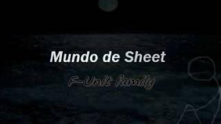 Mundo de Sheet -F-UNIT FAMILY