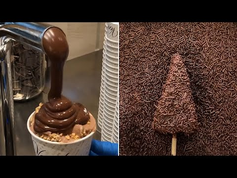 Delicious Chocolate Ice Cream Hacks and Ideas You Must Try | So Yummy Chocolate Decorations