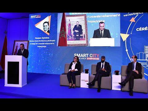 Video : Smart City Casablanca Symposium : Déclaration de Moncef Fadili, expert en planification urbaine