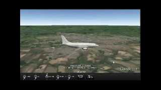 Pouso avião (Radar em tempo real) Londrina PR