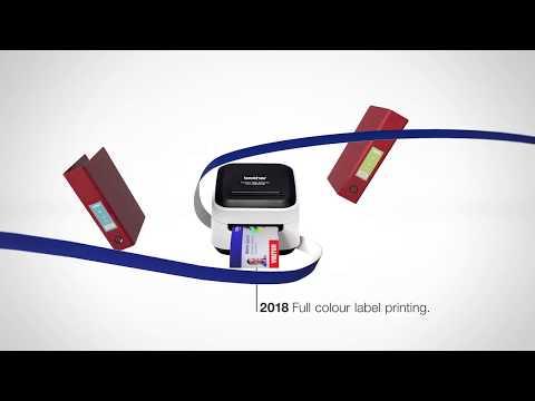 Brother P-touch - 30 år med labels