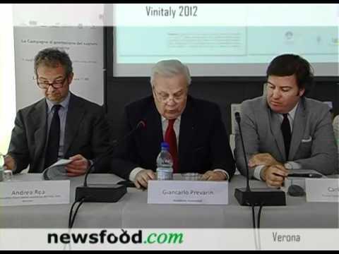 VINITALY 2012: Alessandro Canepari, Partner campagna promozione sughero