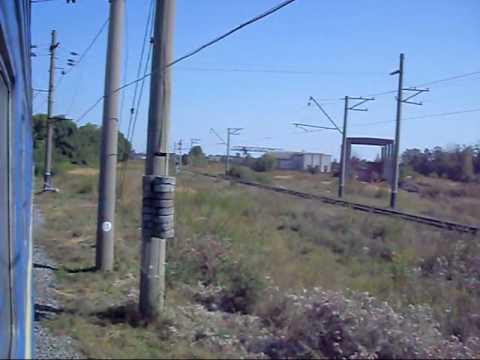 №2 Поездка на поезде Train view