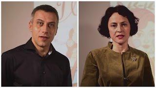 Din culisele concertului I LOVE VERDI: Tiberiu Soare si Sandra Ecobescu