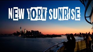 NYC SKYLINE SUNRISE - VLOG #50