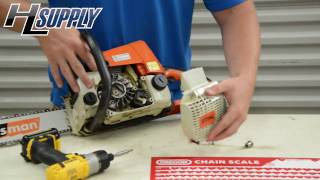 How to Replace a Starter Rope on a Stihl Chainsaw....The Easy Way by Bobby