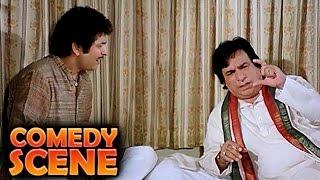 Kader Khan & Asrani | Comedy Scene | Jawab Hum Denge | Jackie Shroff, Shatrughan Sinha, Sridevi | HD