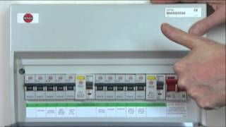 Resetting trip switches on your fuse box - YouTube on