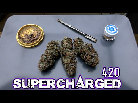 420 on 420 Solventless Supercharged Joint!!!