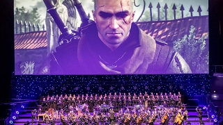Video Game Show -- The Witcher 3: Wild Hunt concert - FMF 2016 (excerpt)