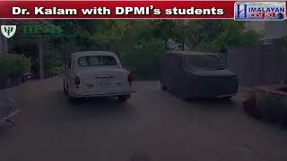 Dr. APJ Abdul Kalam' Motivational and Inspirational Class to Students at DPMI Delhi, India