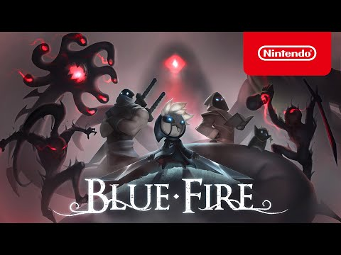 Blue Fire - Release Date Announcement - Nintendo Switch