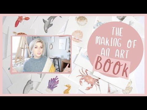 THE ART OF PUBLISHING A BOOK  |  STUDIO VLOG JANUARY