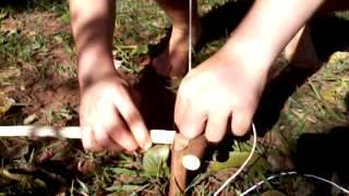 Armadilha de laco para pequenos animais