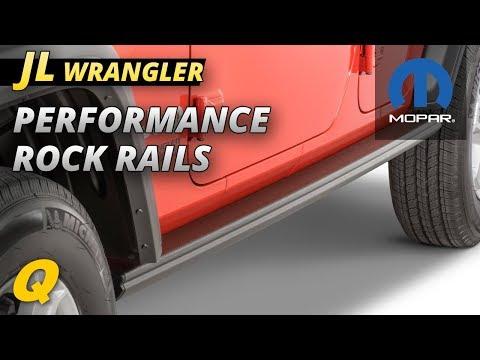 Mopar Jeep Performance Rock Rails Review for Jeep Wrangler JL
