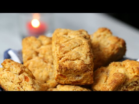 Sweet Potato Biscuits With Honey Butter ? Tasty