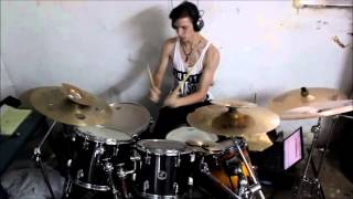 Suicide Silence - Lifted DRUM COVER