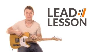 The Anthem - Planetshakers // Lead Guitar Tutorial
