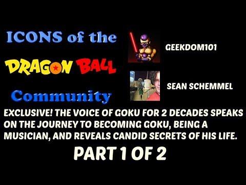 SEAN SCHEMMEL INTERVIEW: Becoming Goku, Music, Puppets, Life.
