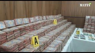 Le BCIJ estime la valeur de la cocaïne saisie à plus de 25,8 milliards de dirhams