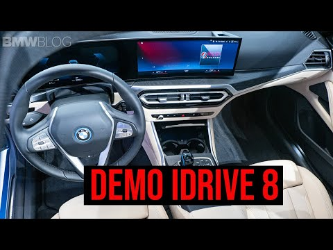 The NEW BMW iDrive 8 | Comprehensive Review And Demo