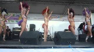 Chica Bonita Brazilian Samba Dance Company @ Leicester Caribbean Carnival 2014