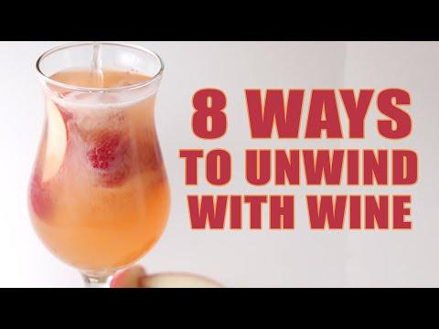 8 Ways To Unwind With Wine